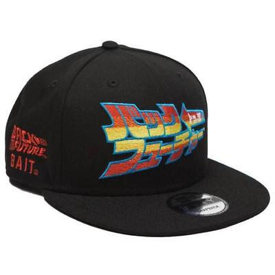 New Era 5950 59FIFTY X BAIT Back to the future BTTF Limited Men's Cap Rare
