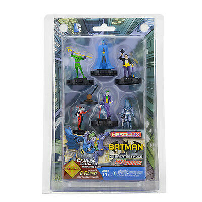 Wizkids HeroClix DC Batman and his Greatest Foes Fast Forces BNIB Free UK P&P