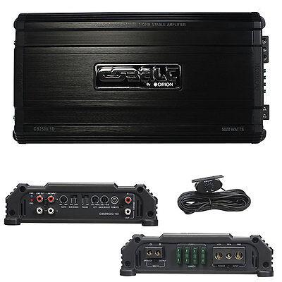 Orion CB25001D Cobalt D Class Amplifier 5000 Watts @ 1 Ohm