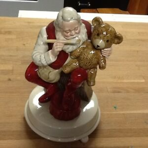 Beautiful piece music handmade Santa Claus