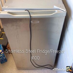 Stainless Steel Bae Fridge / Freezer Oxley Vale Tamworth City Preview