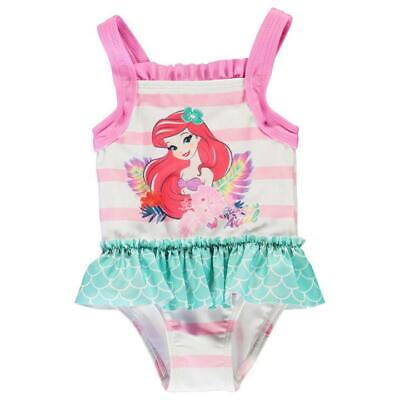 y Mädchen Bade Anzug Mode Schwimm Kinder Meerjungfrau Pink NEU (Ariel Mädchen)