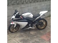 Yamaha yzfr125 2012 new mot may or ex another bike