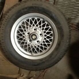Jaguar XJS V12 as New Wheel & Tyre