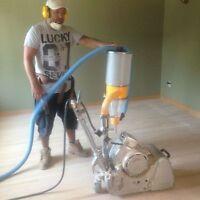 Réparation, pose et sablage planchers escaliers**514-968-4080*