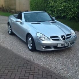 Beautiful Mercedes SLK, low mileage, excellant condition. Full service history, 11 months MOT.
