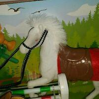 Weißen soft Pferd Simba Spielzeug 4 teilig ab 3+ Jahre Baden-Württemberg - Rosenberg Vorschau