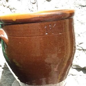 Vintage Salt Glazed Chippewa Pottery Crock - Nice