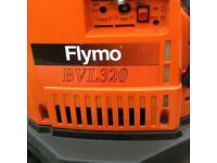 Flymo garden blower 2 stroke petrol