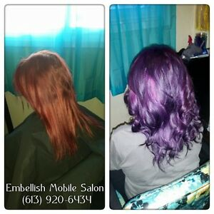 Weddings, Hair Extensions, Hair Colour, Highlights, Cuts & More Belleville Belleville Area image 5