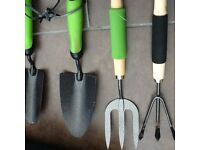 Garden hand tools as new - Job lot for £3