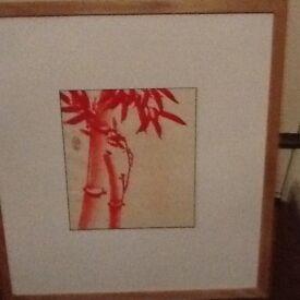 Original framed water colour