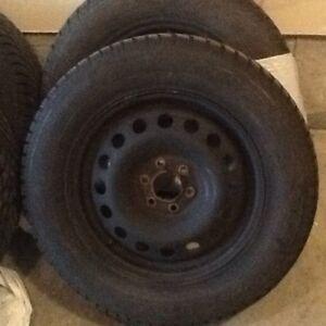 "Goodyear winter tires 17"""