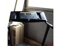 Rorger black treadmill