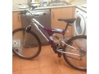 Bike practically new £45 can deliver for petrol