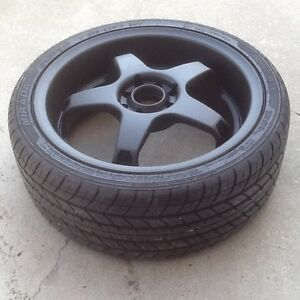 """4 17"""" 4x100 and 4x114.3mm rims with 205/40/r17 tires!"""