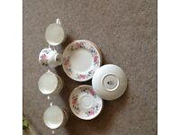 Staffordshire crown Trent tea set