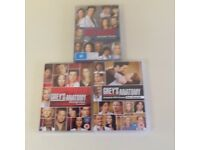 3 DVDs Grey's Anatomy...seasons 3 and 4 and 5
