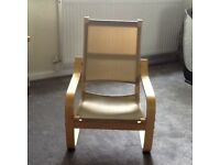 Childs chair and cover