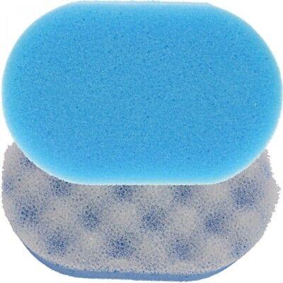 10 Stück Badeschwamm Massage Schwamm Wellness Reinigung Pflege Körperpflege oval