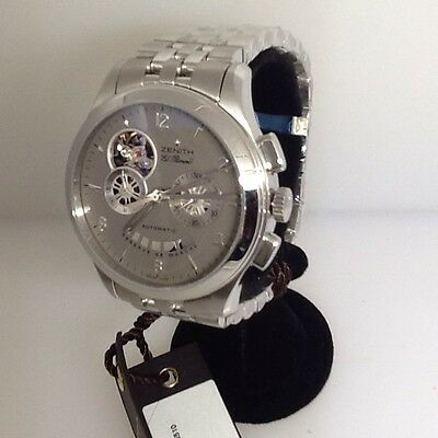 ZENITH CLASS EL PRIMERO T OPEN AUTOMATIC CHRONOGRAPH MEN'S WATCH NEW!!!