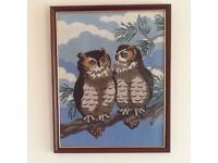 Owl Tapestry Picture