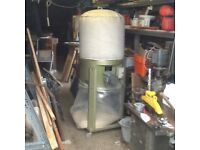 Startrite Cyclair 55 woodwork dust and chip extractor for workshop machinery, single phase.