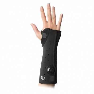 EXOS SHORT ARM FRACTURE BRACE BLACK LEFT XSMALL— OPEN THUMB 312-31-1111