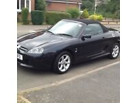 Dark grey MG TF in good condition.8 months MOT.