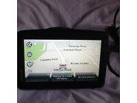 Tomtom slim with map and accessories