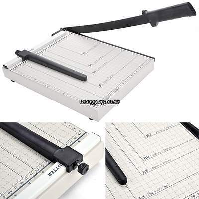 A4 Size Paper Photo Cutter Metal Trimmer Base 10 Sheets Cutting Tool