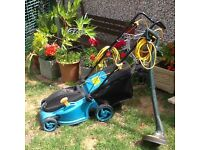Electric Lawnmower & Strimmer