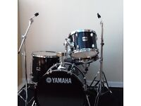 Black Yamaha gig maker drum kit in perfect condition, all hardware included.