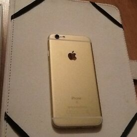 Cracked Gold iPhone 6s £225