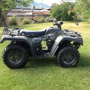 Low mileage ATV