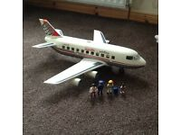 Play Mobil airplane