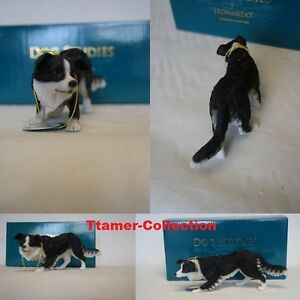 Collie Dog Ornament By Leonardo Collection Sheep Dog Ornament Brand New in Box