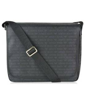 Brand New with tags Genuine ARMANI JEANS Logo Messenger Bag - RRP Tag £175