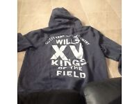 navy blue jack wills hoodie