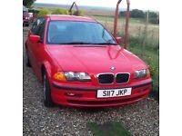 BMW 318 S Reg. 1999. Auto.