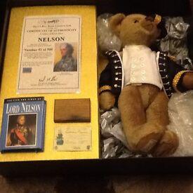 Deans Rag book Nelson Teddy bear