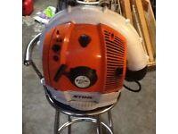 Stihl BR 550 leaf blower