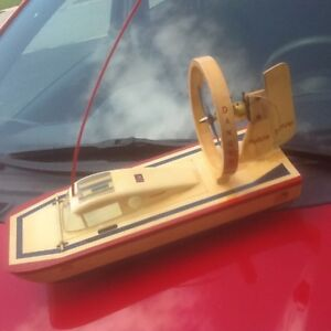 1970s Remote Control  Puddle Jumper wood boat