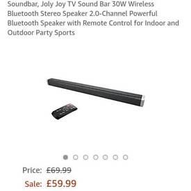 BRAND NEW Bluetooth soundbar 85cm long