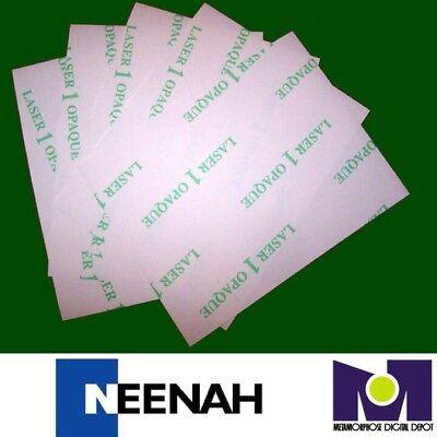 Neenah Laser 1 Opaque Dark Heat Transfer Paper 8.5x11 25 Sh Best Price In Ebay
