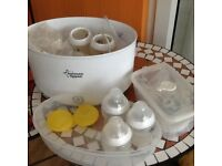 Tommee Tippee bottle sterilising kit in excellent condition