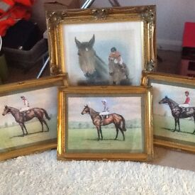 Horse raceing prints