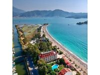 Brand new 1 Bedroom 1st Floor Lux Apartment close to shops, local transport and Calis beach, Turkey
