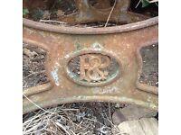 Antique Sandstone Sharpening Wheel