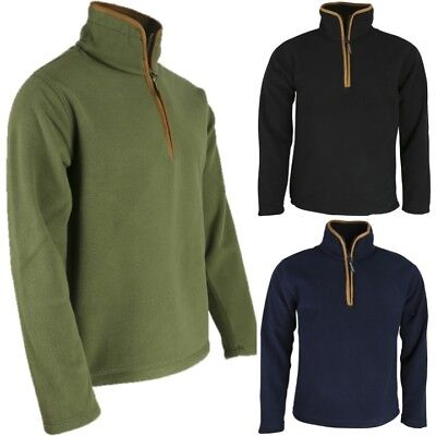 COUNTRYMAN THERMAL FLEECE PULLOVER MEN'S S-2XL HUNTING 1/4 ZIP JUMPER KUK - Thermal Pullover